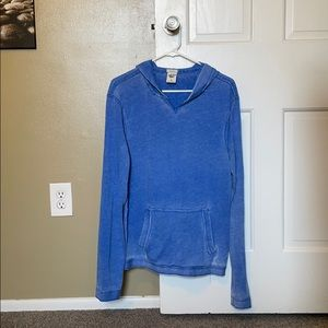 Abercrombie and Fitch Light Blue Hoodie